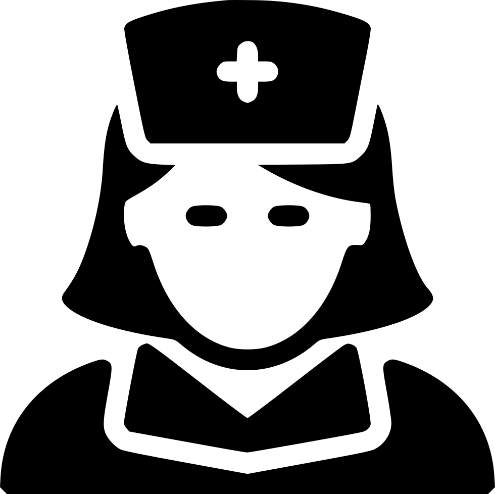 Nurse png icon. Svg free download onlinewebfonts