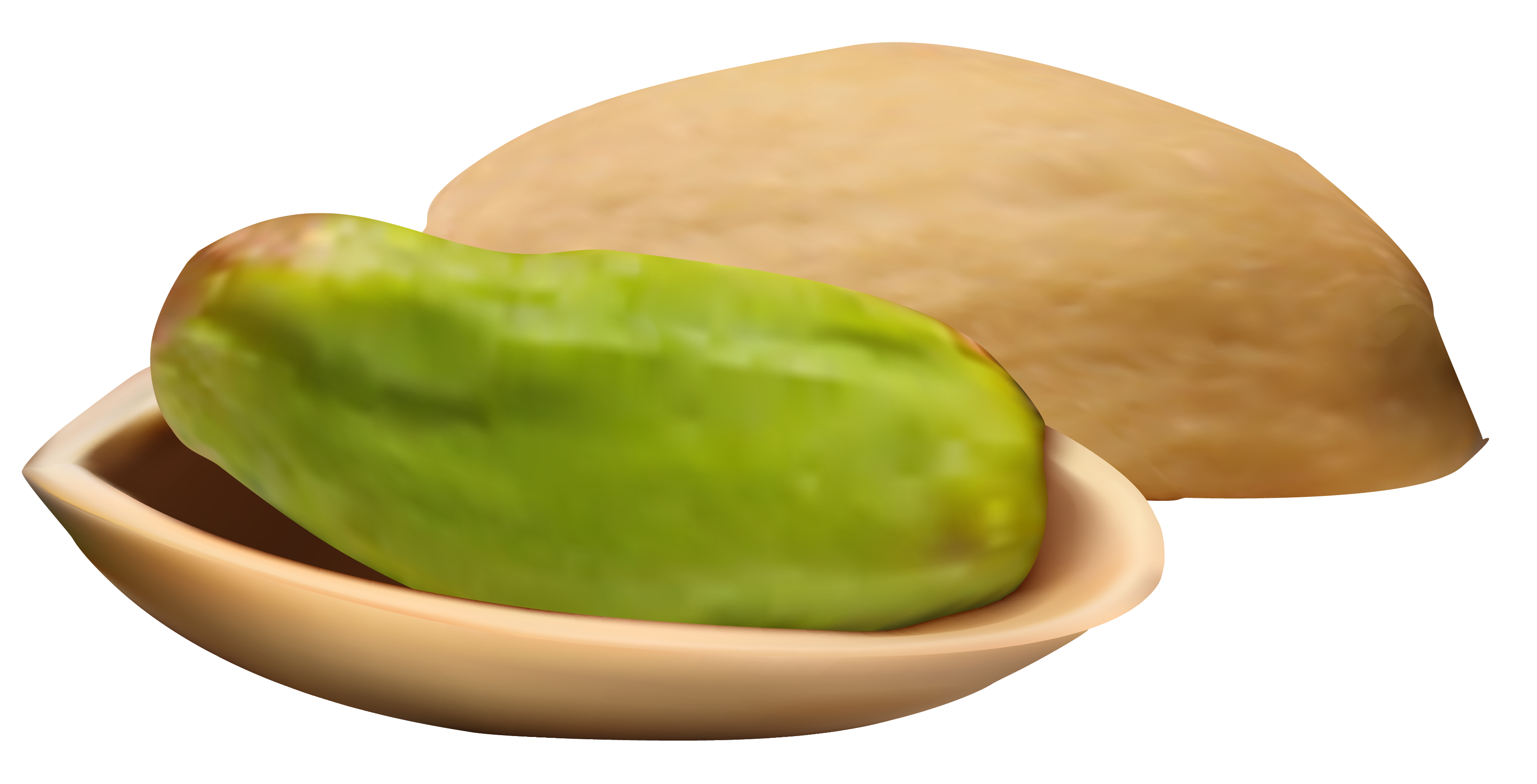 nuts transparent pea