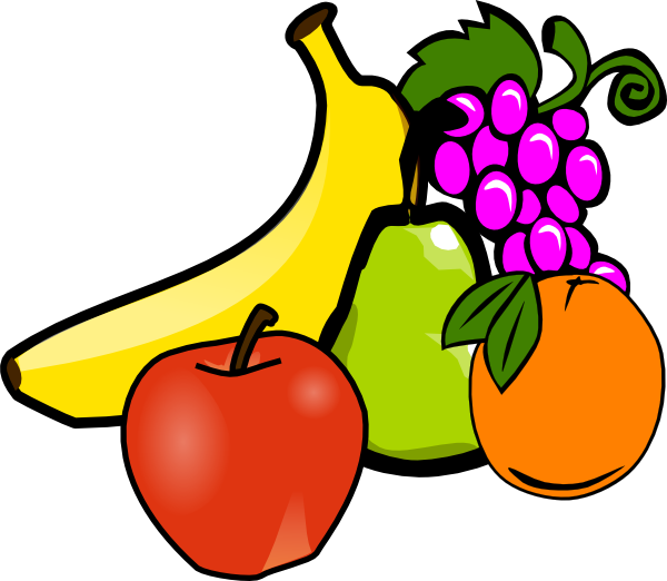 salad clipart fruit platter