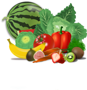 Nutrition clipart health conscious. Fruits and vegetables clip