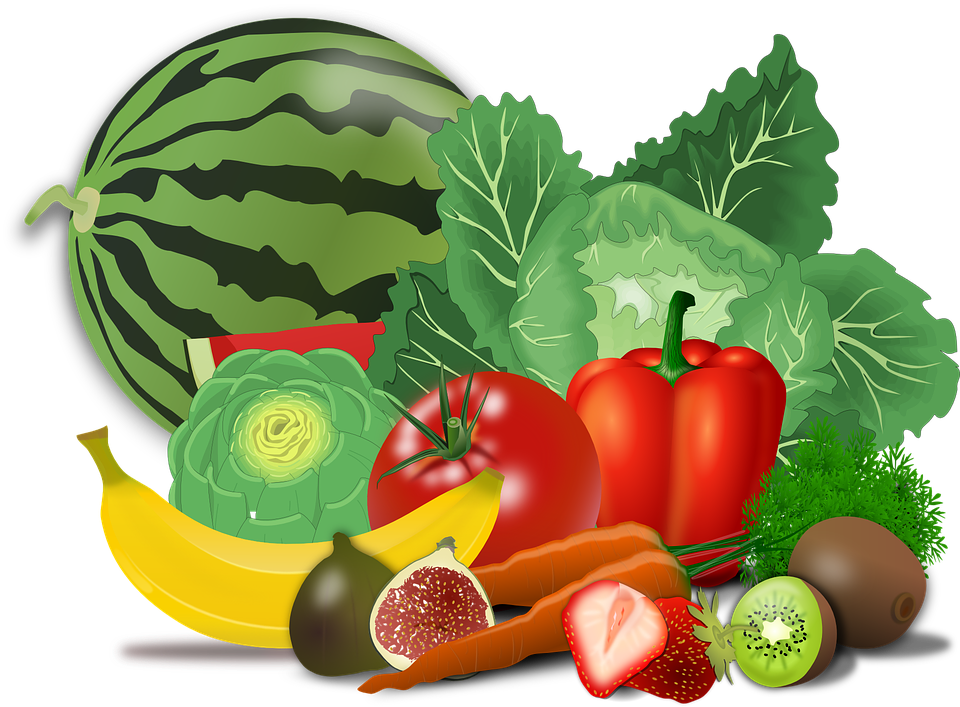 Nutrition clipart lot food. Eating real live foods