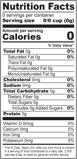 Nutrition facts label png. Food nutritional analysis vertical