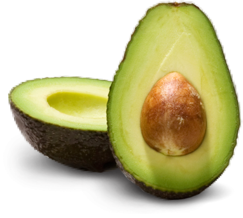Transparent avocado open. Png images pngio