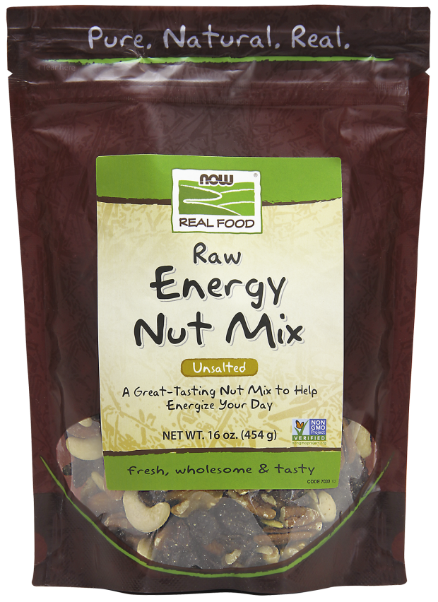 Nuts transparent fatty. Raw energy nut mix