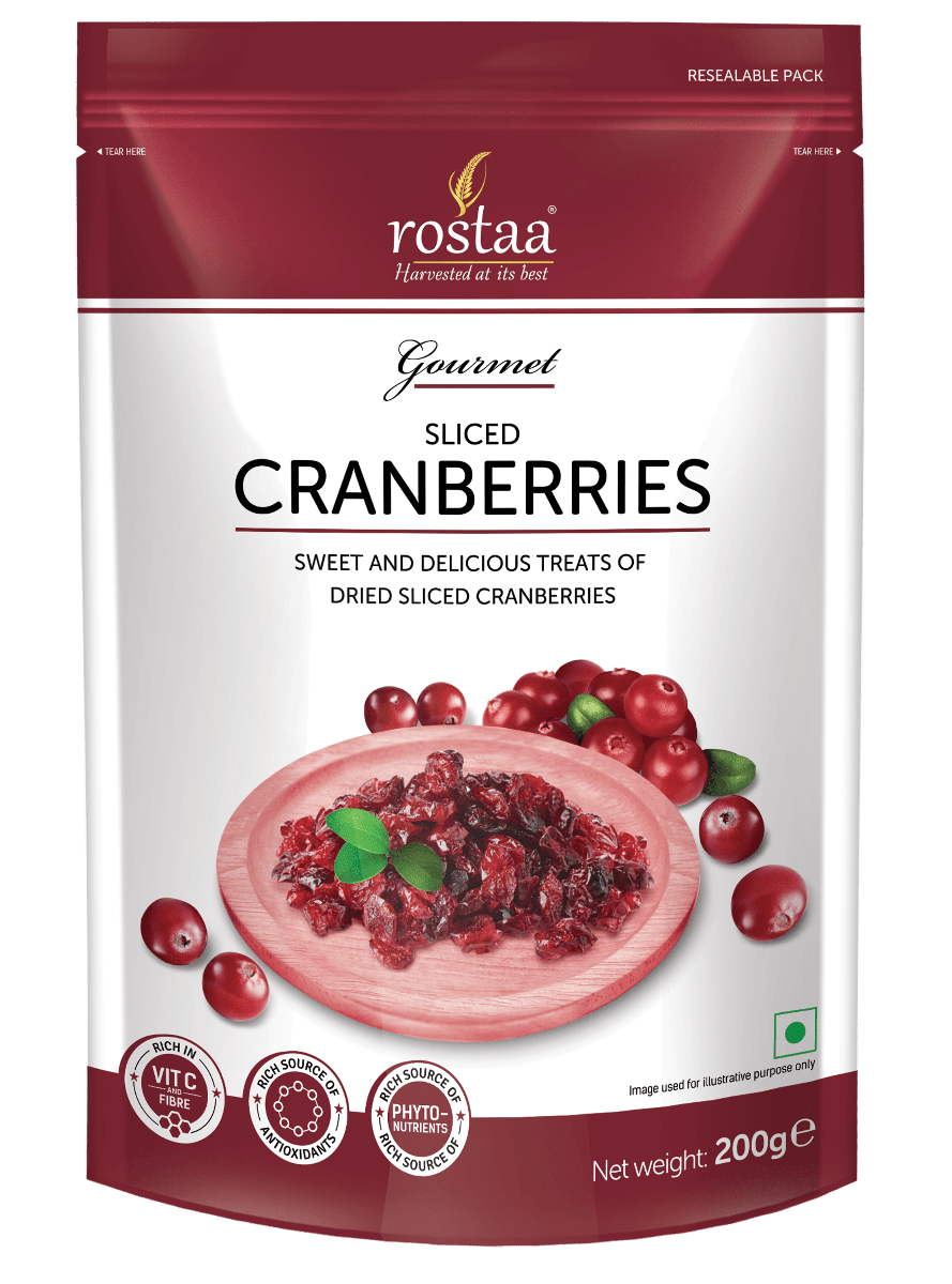 nuts vector dried cranberry