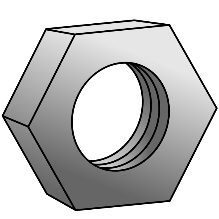 Nuts vector hexagonal. Nut bolt computer icons