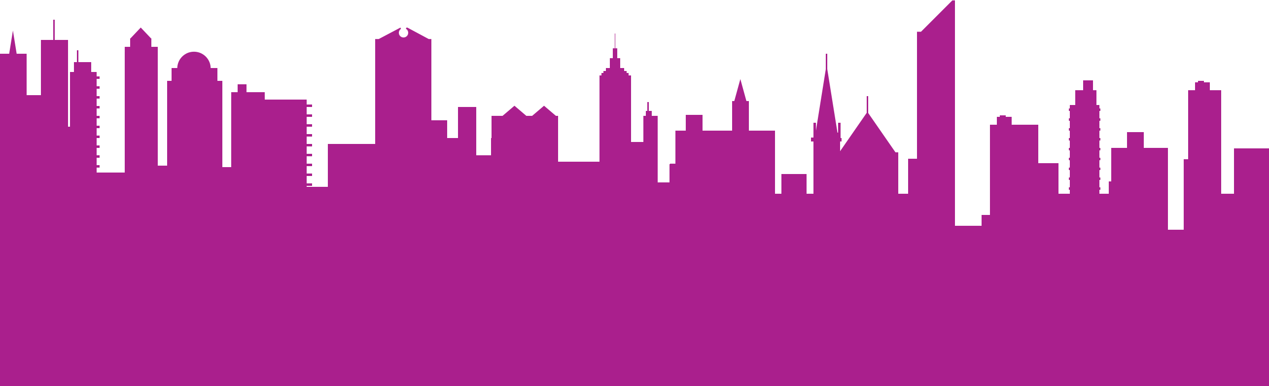Ny skyline silhouette png. The water tank project