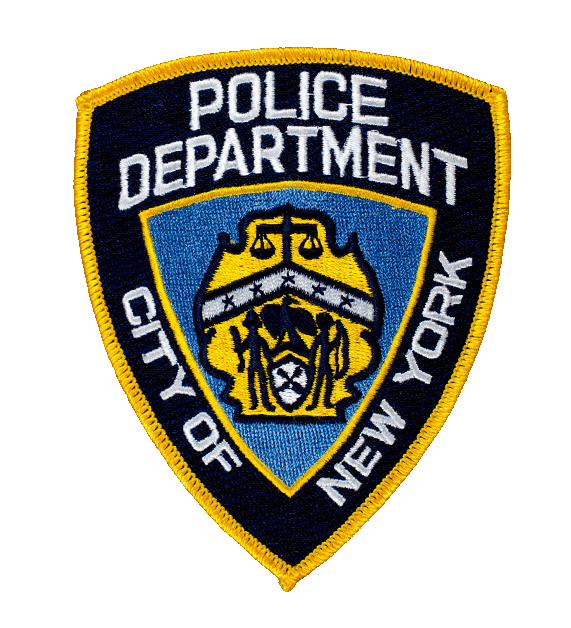 Nypd badge png. Offical patch patches pennies