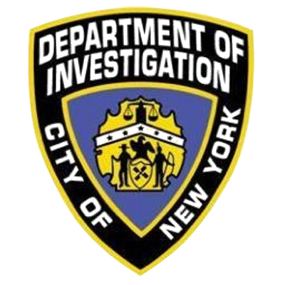 Nypd badge png. Department of investigation