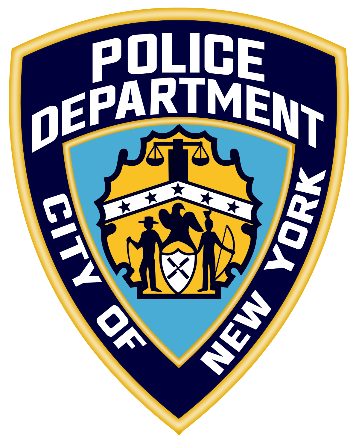 Nypd badge png. Police arrests nigerian for