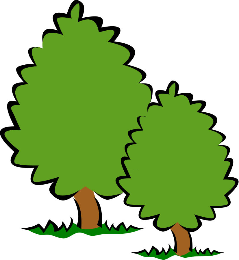 Free trees download clip. Small clipart banner transparent download