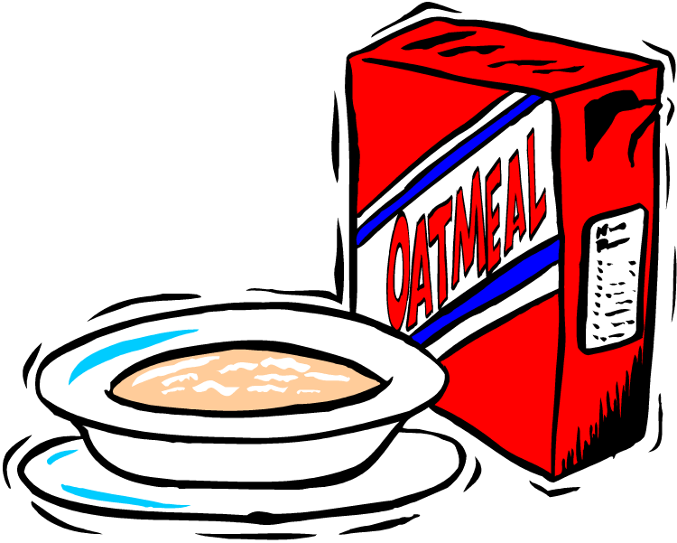 Oatmeal clipart warm. Group with items