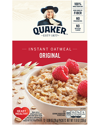 Oatmeal clipart warm. Product hot cereals quaker