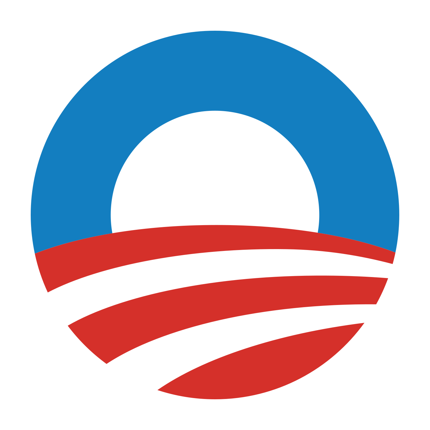 Obama logo png. Symbol meaning history and