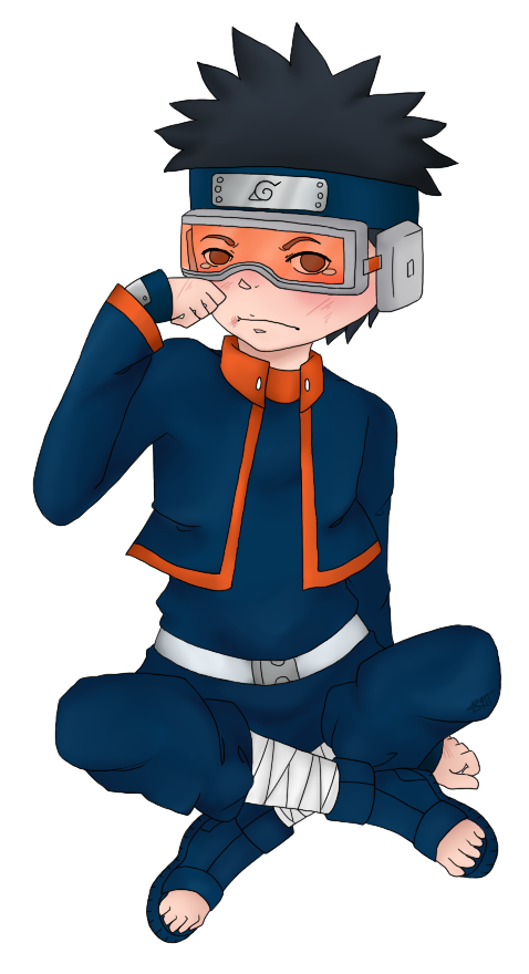 Obito transparent. By gold cadet on