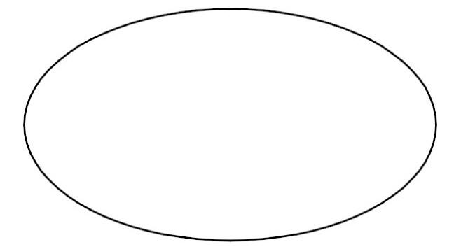 Oblong orange. Free oval cliparts download