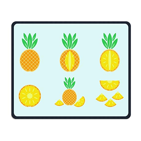 Oblong pineapple. Amazon com mouse pad