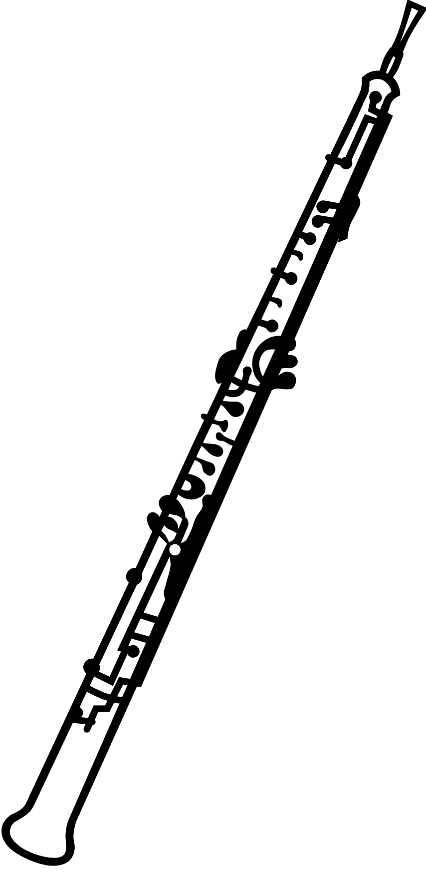 Oboe drawing line