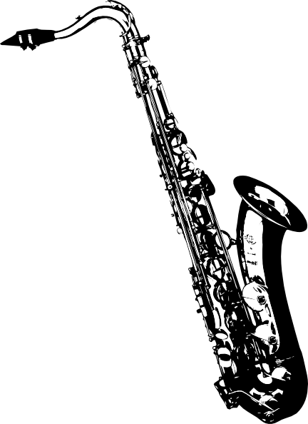Oboe at getdrawings com. Saxaphone drawing banner free stock