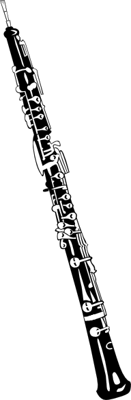 Clip art at clker. Oboe drawing svg library