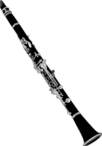 Oboe drawing clip art. Clarinet by gerald g