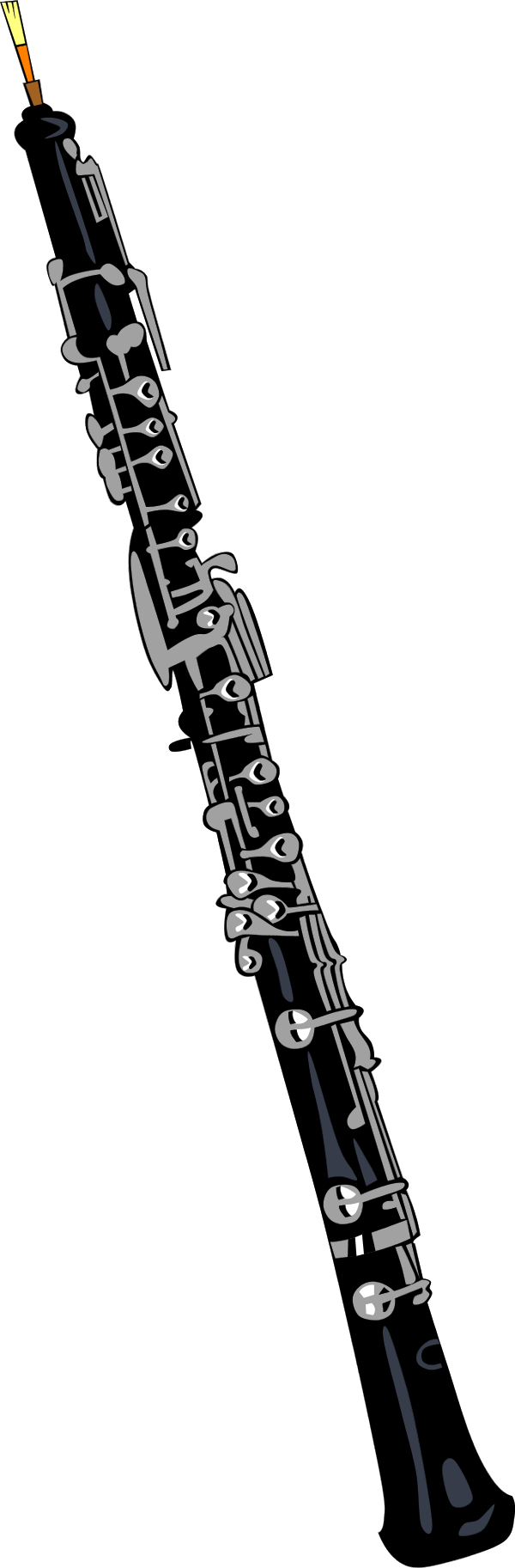 Oboe drawing soprano. Clipart panda free images