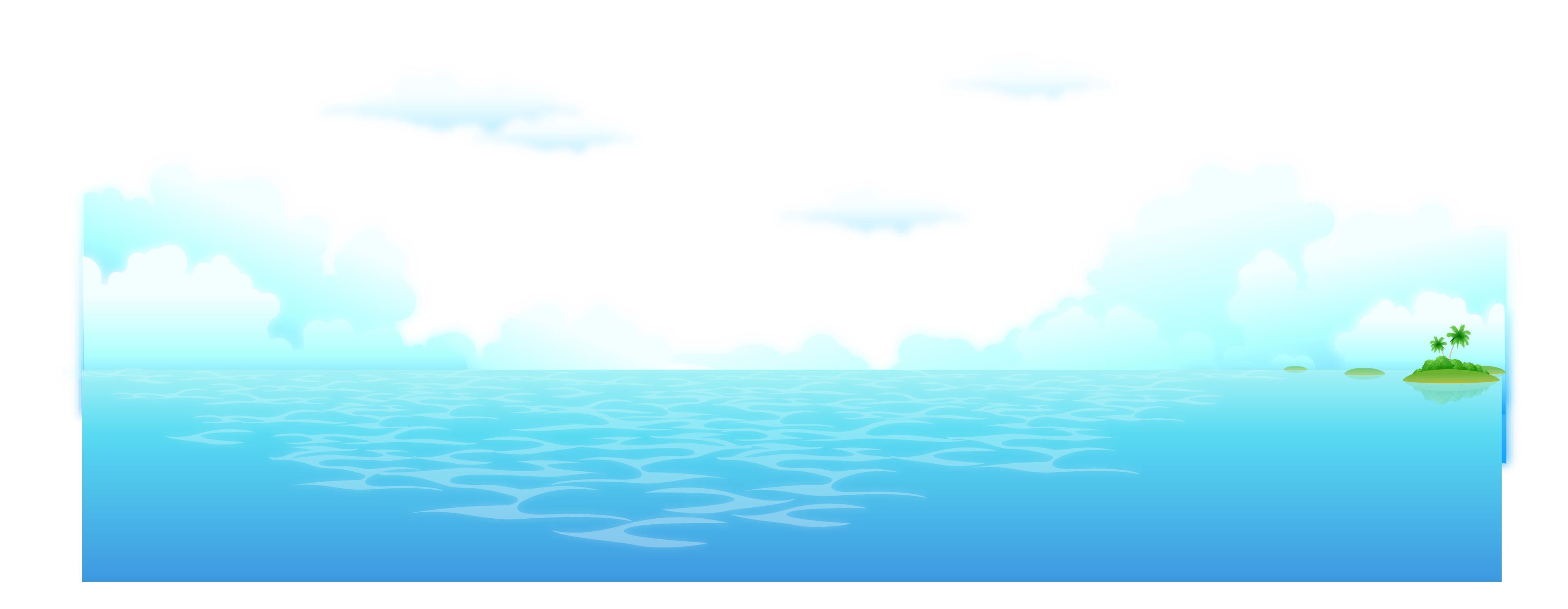 Ocean background png. Fresh vector transprent free
