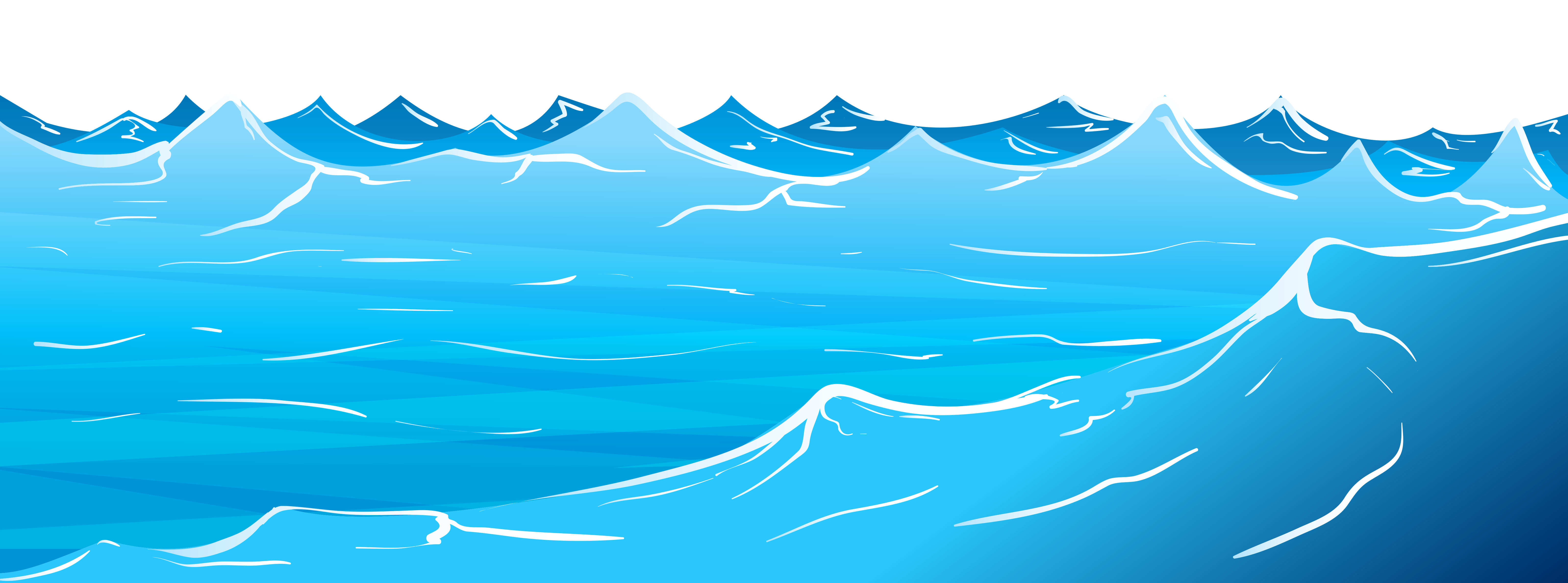wave clipart curling wave