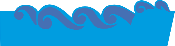 Cartoon wave png. Free waves cliparts transparent