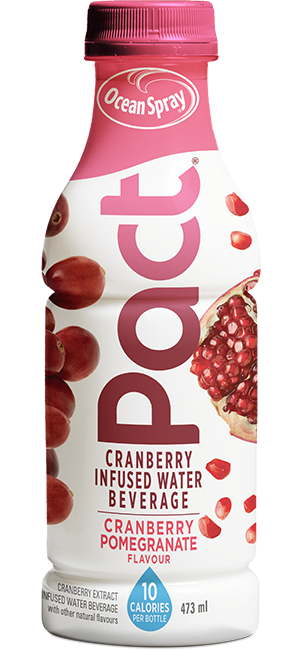 Ocean spray png. Pact cranberry extract water