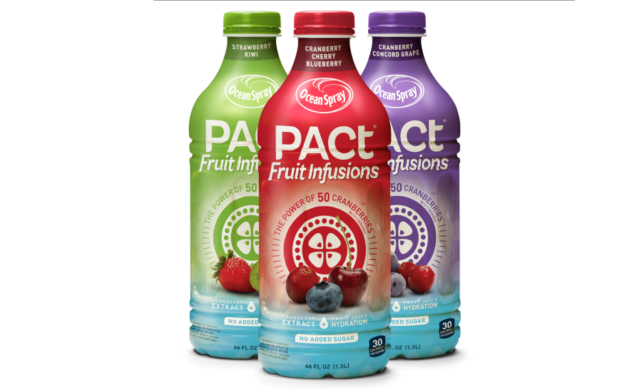 Ocean spray png. Pact fruit infusions beverage