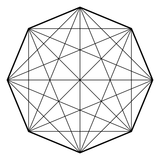 Octagon transparent geometric. Matrix sacred geometry png