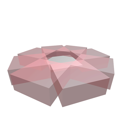 Octagon transparent pink. Roblox
