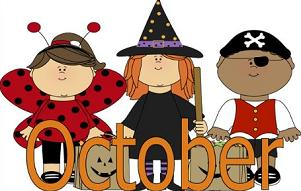 October clipart. Free