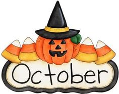 October clipart. Free clip art pictures