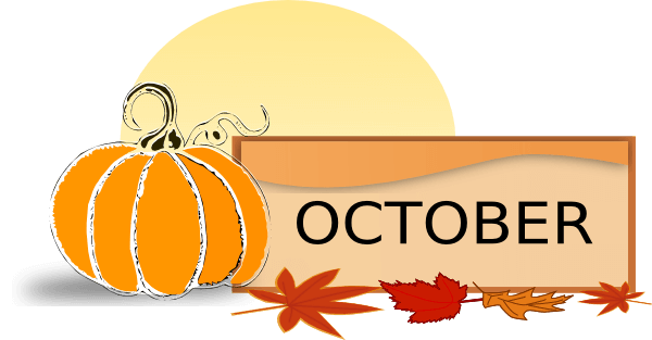 October clipart fall. Junction autumn