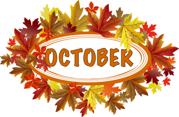 October clipart autumn. Nice clip art download