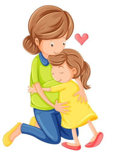 October clipart hug. Best family images