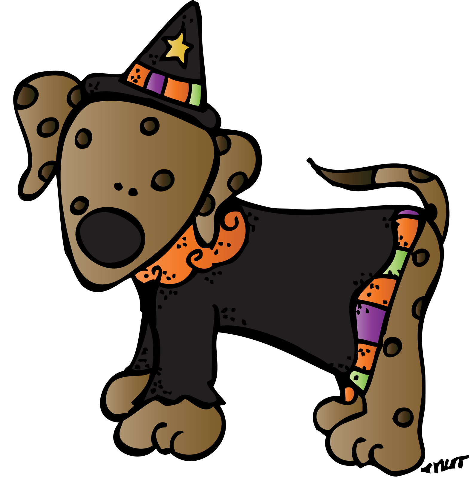 October clipart melonheadz. Halloween picture free library