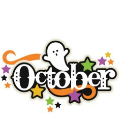 October clipart monthly. Free month clip art