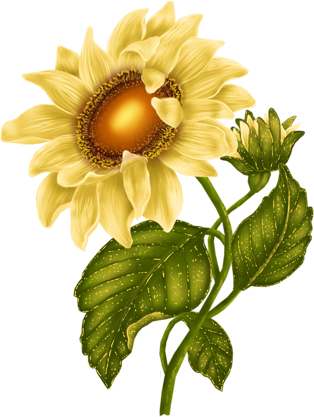October clipart october flower. Archive svet klip artu