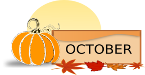 October clipart transparent. Download images image png