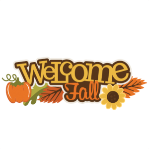 October clipart welcome. Fall svg my miss