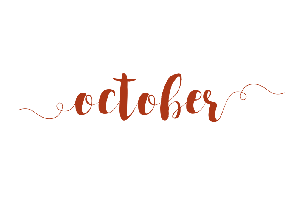 October png transparent. Is the month f