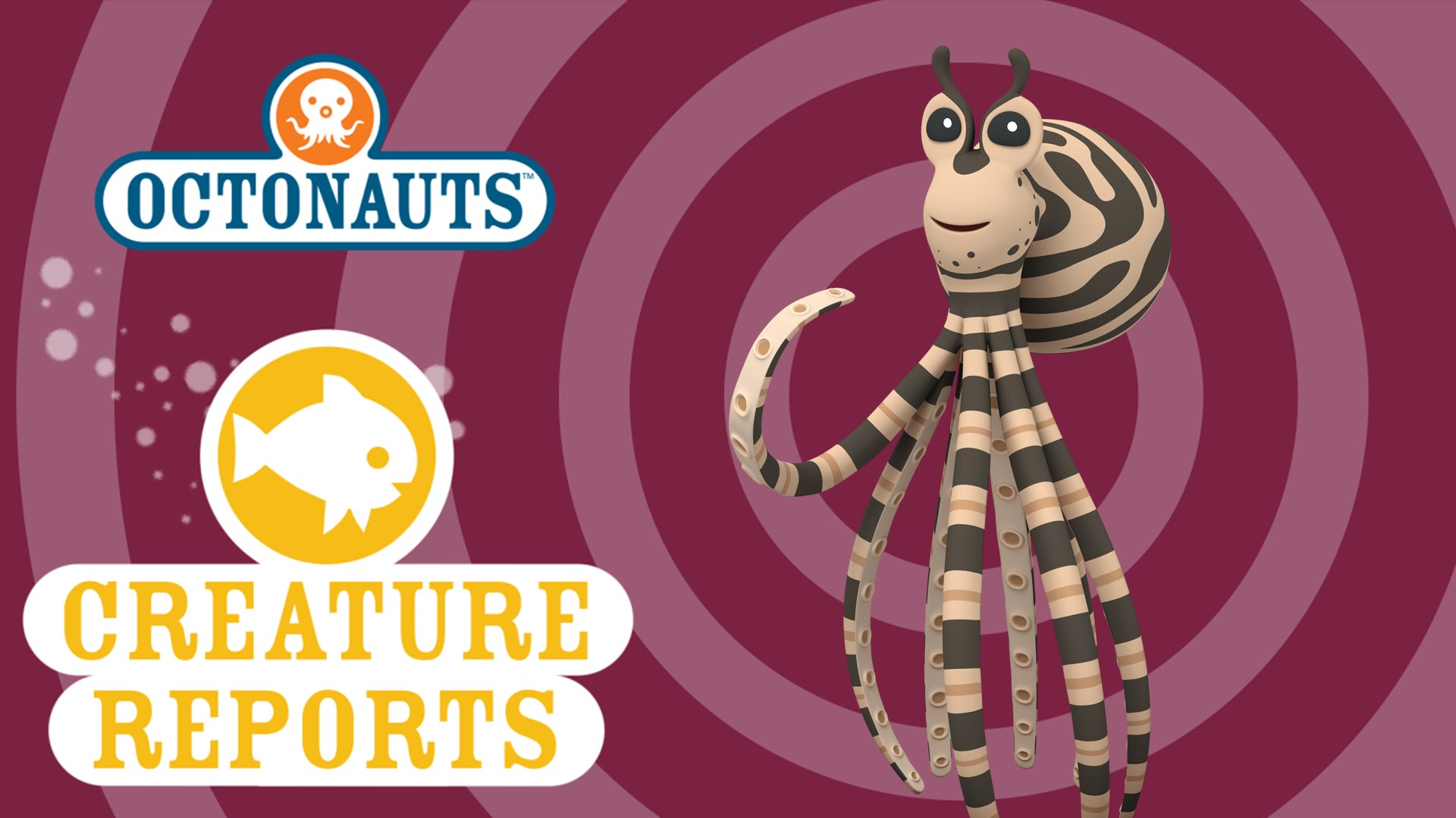Octonauts creature reports youtube. Octopus clipart mimic octopus freeuse