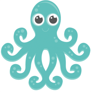 Octopus clipart svg. My miss kate cuttables