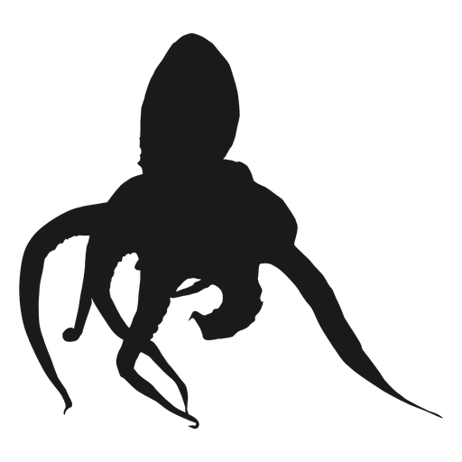 vector tentacles silhouette