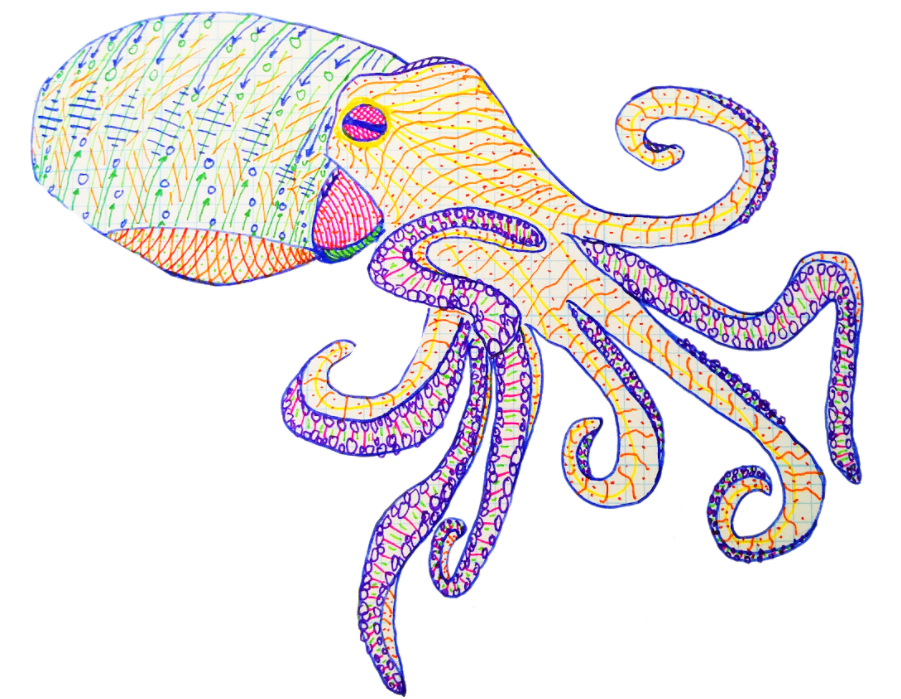 Octupus arms png. Experiment octopus fighting the
