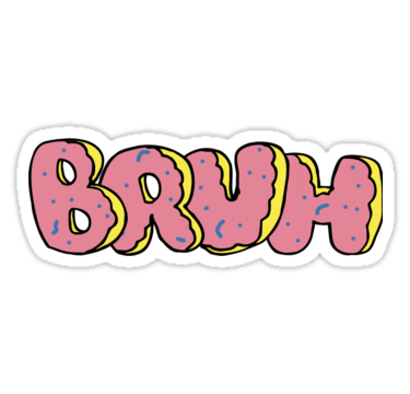 Odd future png. Bruh of donut style