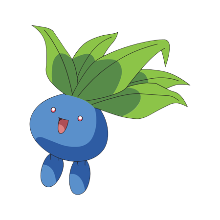 oddish transparent grass